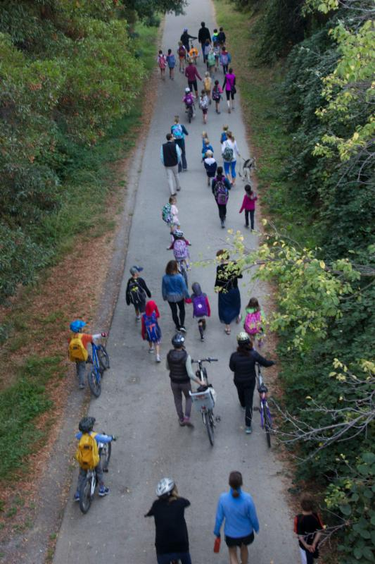 Larkspur Bike Path