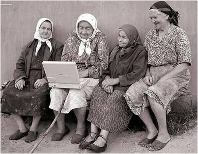 ladies with laptop