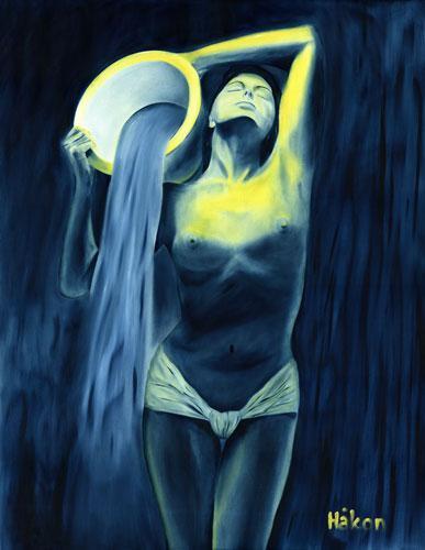 Aquarian Nude Goddess