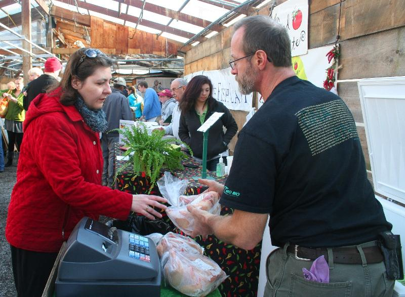 Opening day of the wayland winter farmers 39 market for Russell s garden center wayland ma