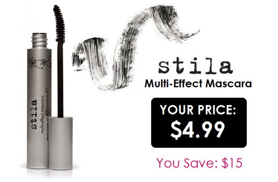 Stila Multi-Effect Mascara only $4.99 - you save $15!