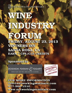 wine forum brochure