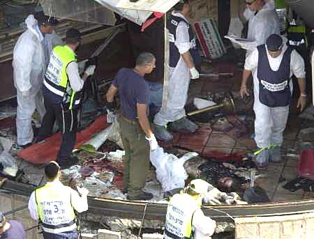 2001 Sbarro Pizza restaurant bombing in Jerusalem