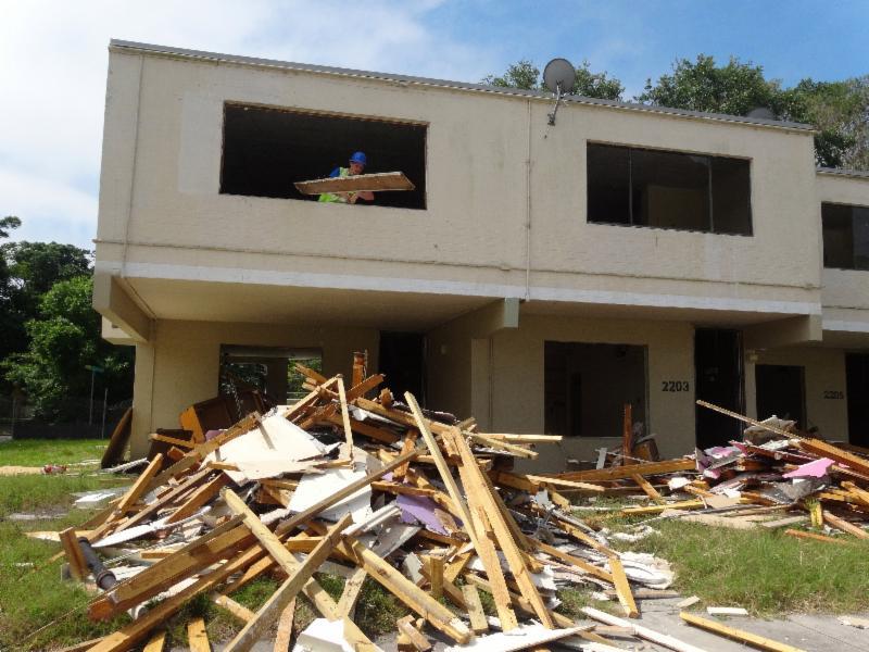 Janie Poe Demolition