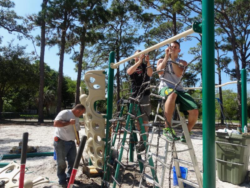 Gillespie Park Playground