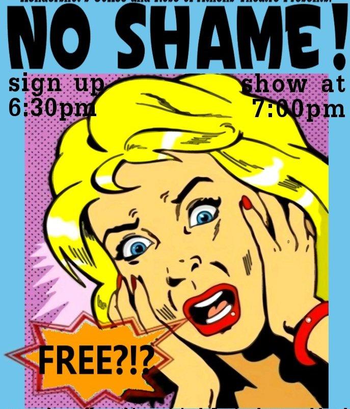No Shame Poster