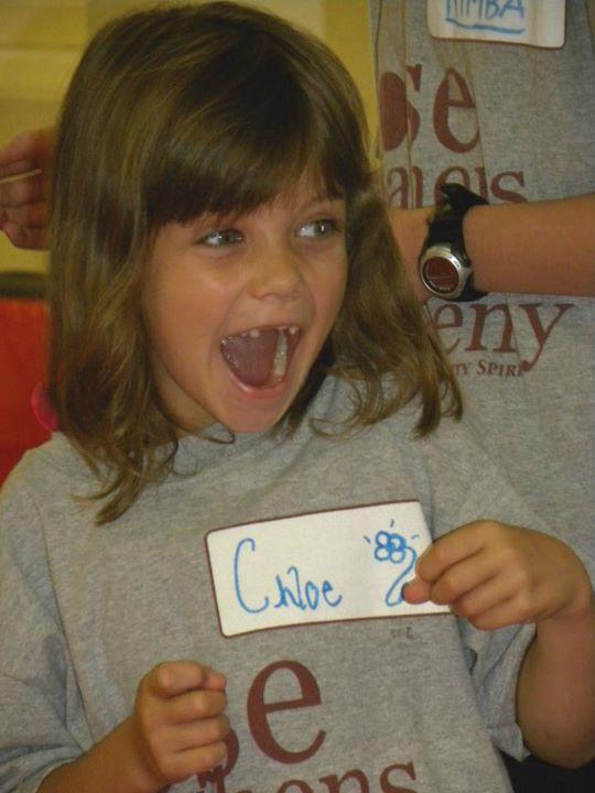 Fall Academy 2011-Chloe smile