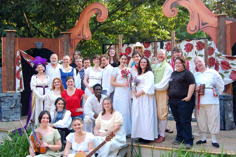 As You Like It cast & crew June 2011