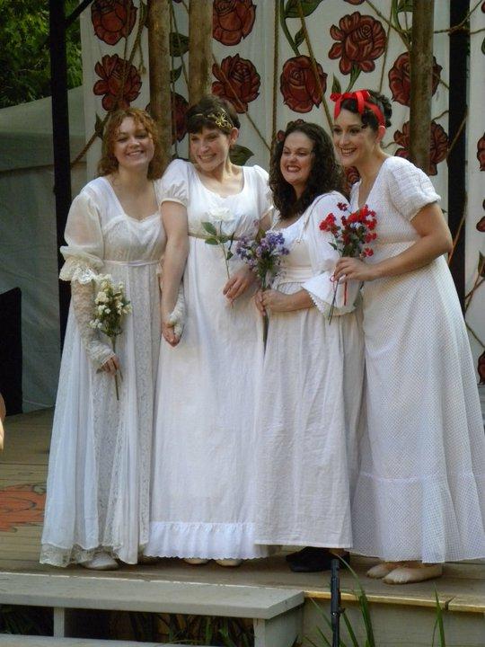 AYLI Wedding Girls