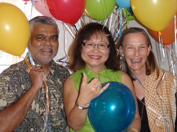 Marie trio aloha party