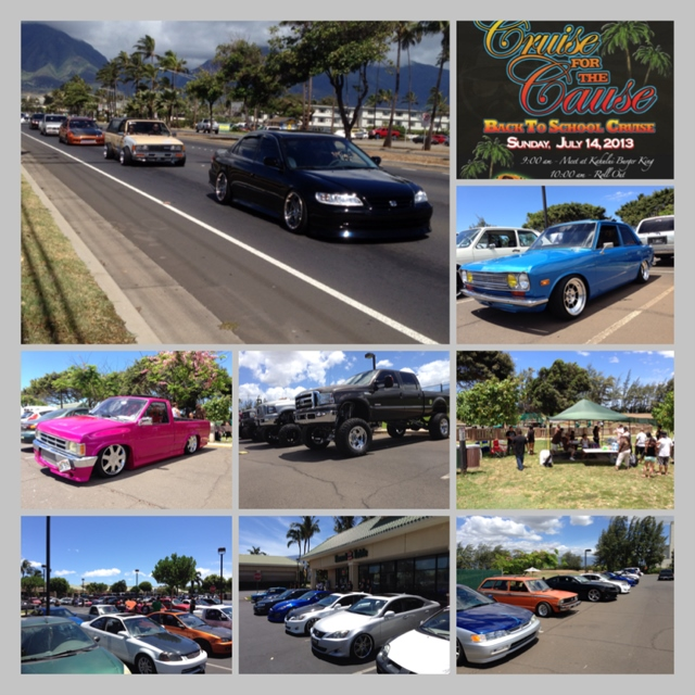 Cruise for the Cause Maui 2013