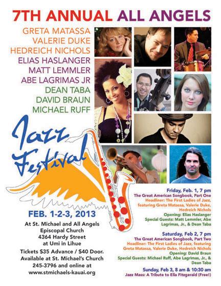 StMAA 2013 Jazz Fest flier