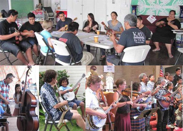 St Eliz Aloha Music collage