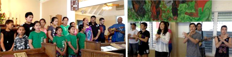 StJBTS Maori visit 2012