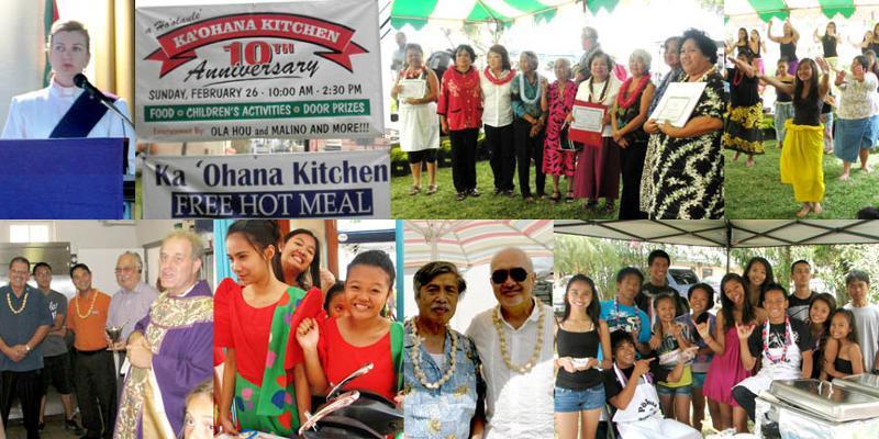 GS 'ohana kitchen collage