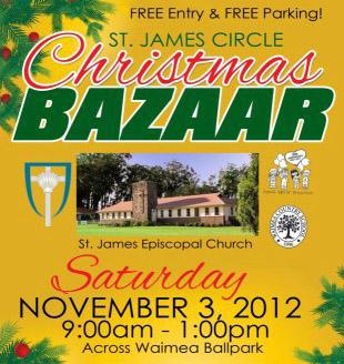 StJames 2012 bazaar