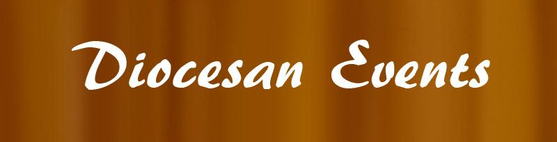 Diocesan events header