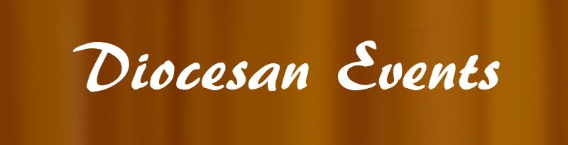 Diocesan events header