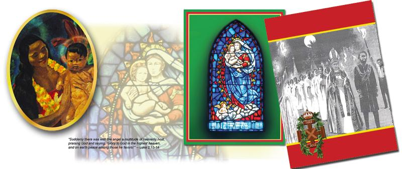 Bishop card collage