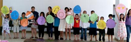 StPhilips Easter children 2013