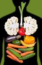 colon and veggies