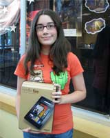 Teen Winner Kindle Fire