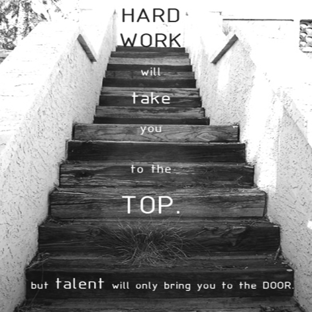 Commitment Quotes For Work Quotesgram: Hard Work Beats Talent!
