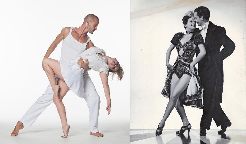 duo larger tap dance widows