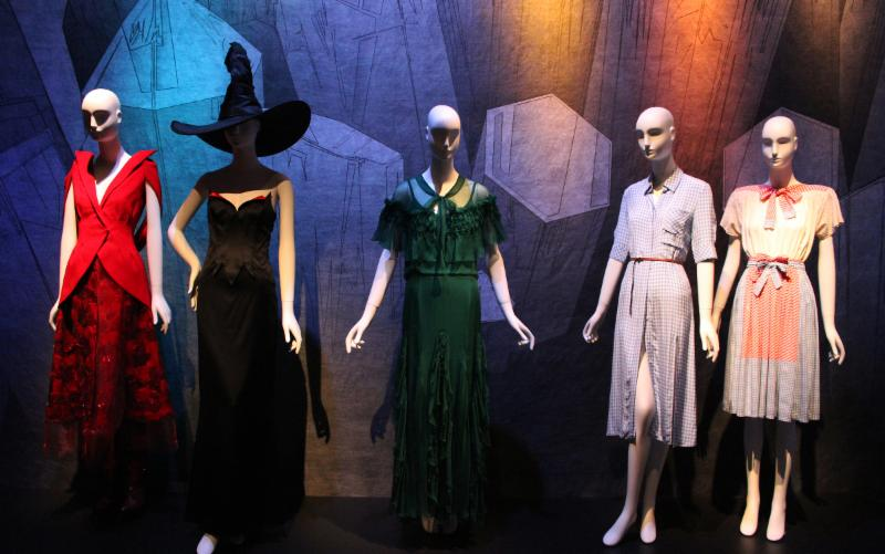 Schlappi Mannequins used in the exhibit