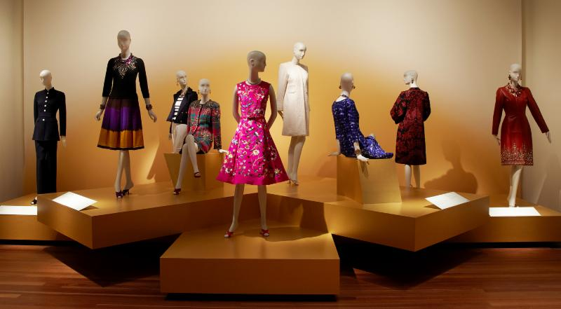 Schlappi mannequins used in exhibition