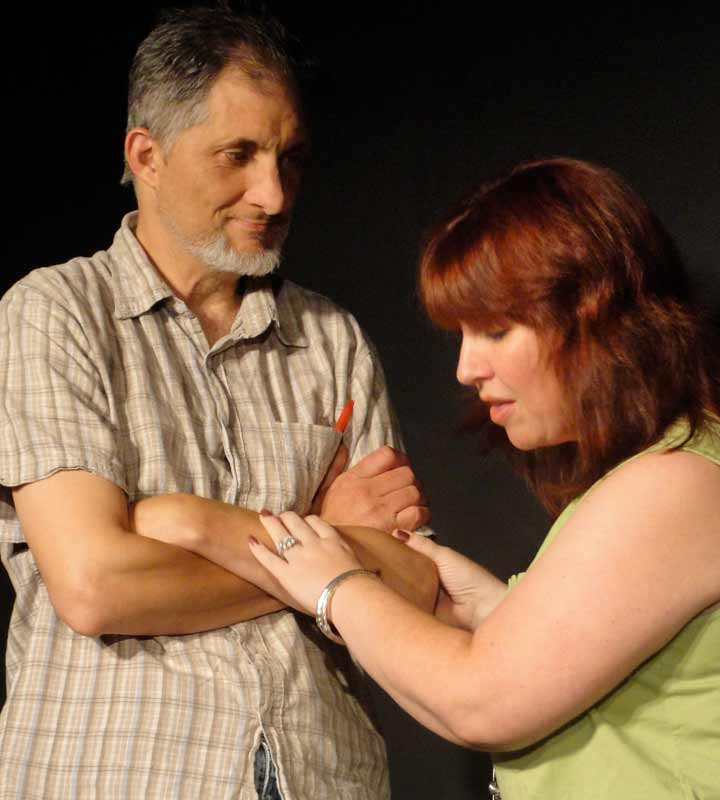 Ken Benoit and Bethany Bobola in Can Can't