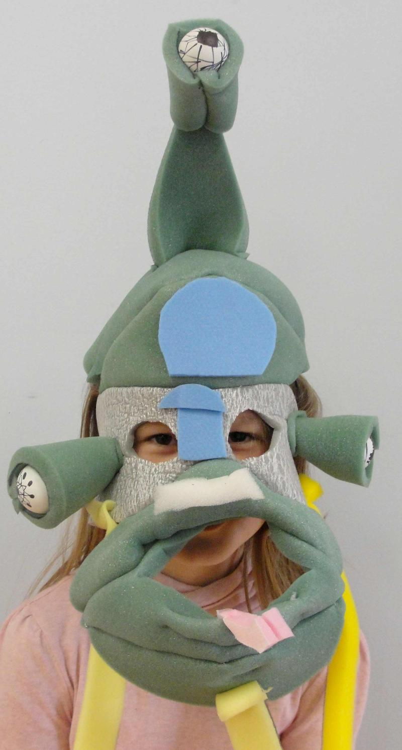 Robot Creature Mask