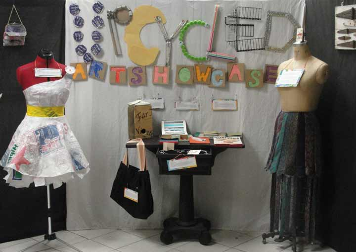 upcycled art showcase
