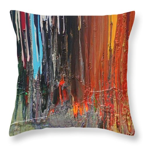 Wicked Cool throw pillow
