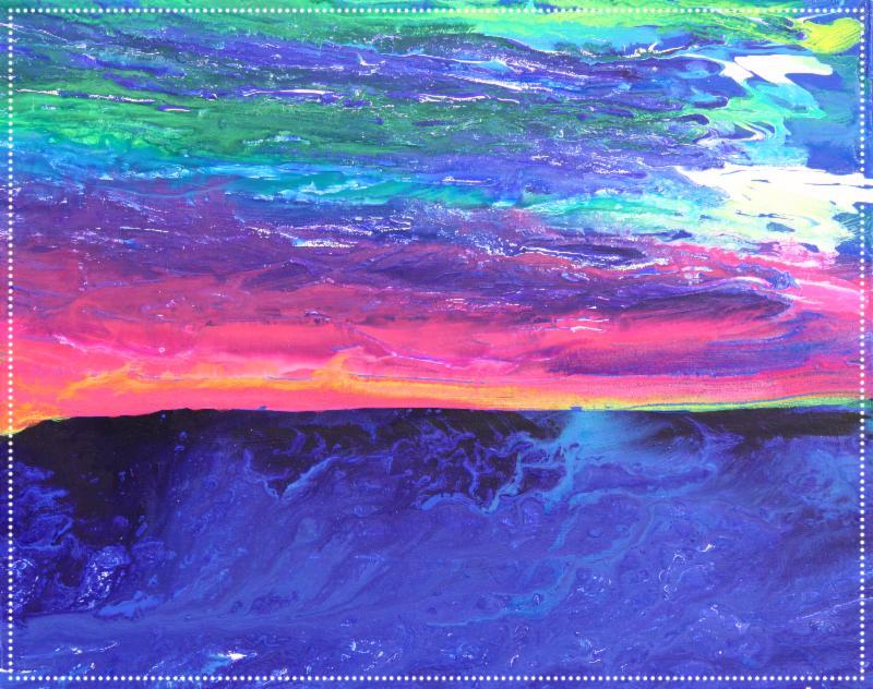 Maui Sunset - 24_x30_