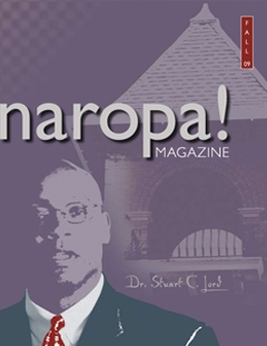 Naropa Magazine Fall 2009 issue