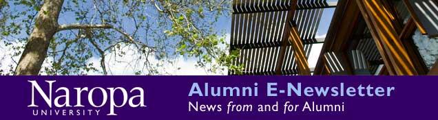 Alumni E-newsletter header