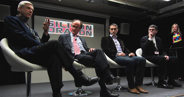 Hermann Hauser, Bruno Bensaid, Martin Bloom, Adam Cooke