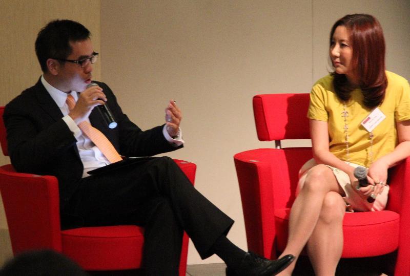 Shunee Yee with Danny Le of KPMG
