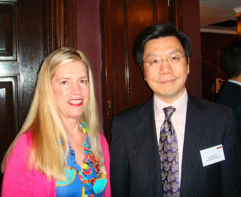 Rebecca and Kai-Fu Lee