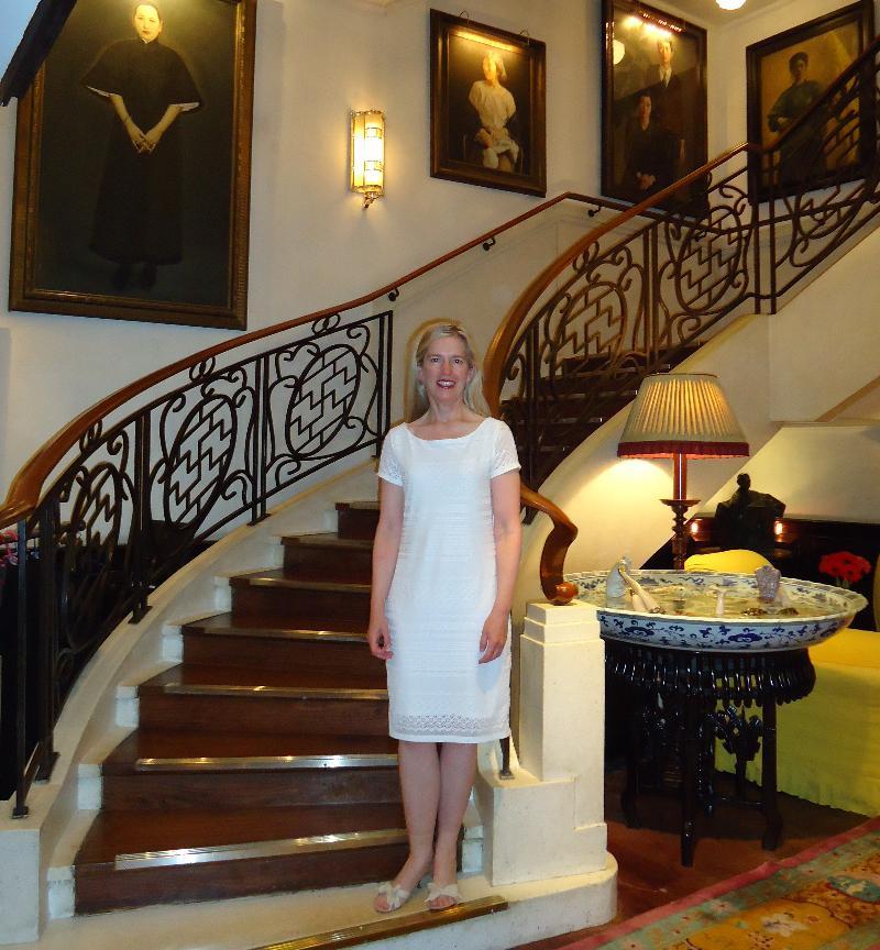 Rebecca at China Club Hong Kong