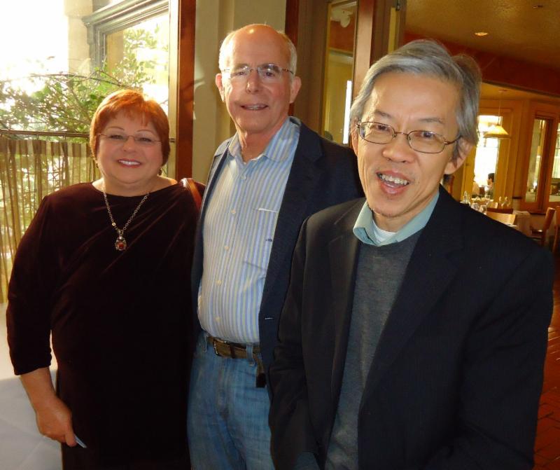 Rosemary Coates, Jim Boettcher, Poh Kam Wong
