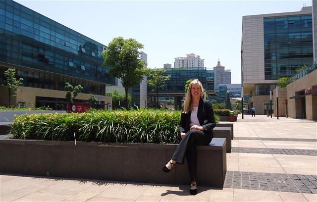 Rebecca at Yangpu venue