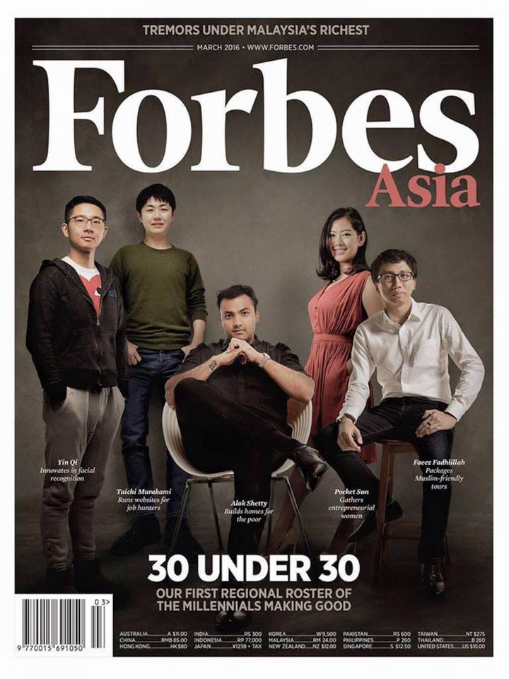 Forbes Asia cover