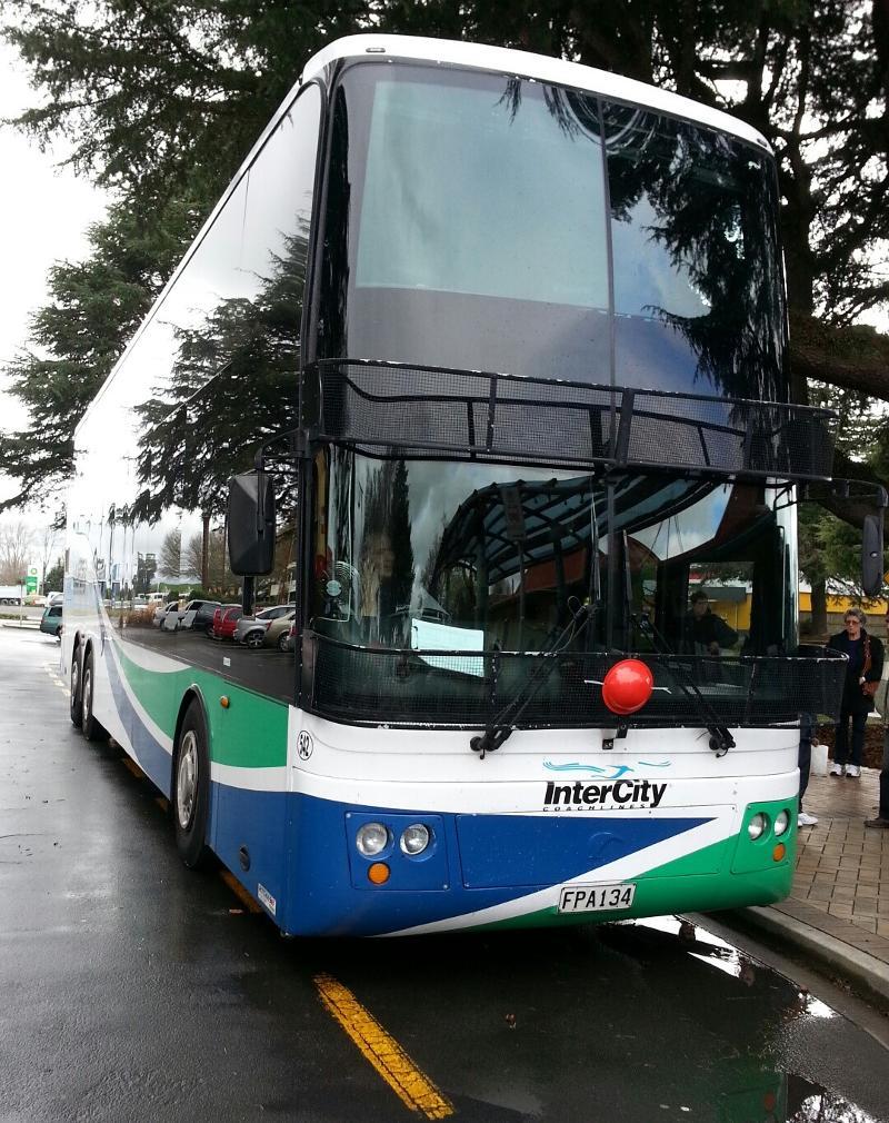 InterCity bus to Taupo