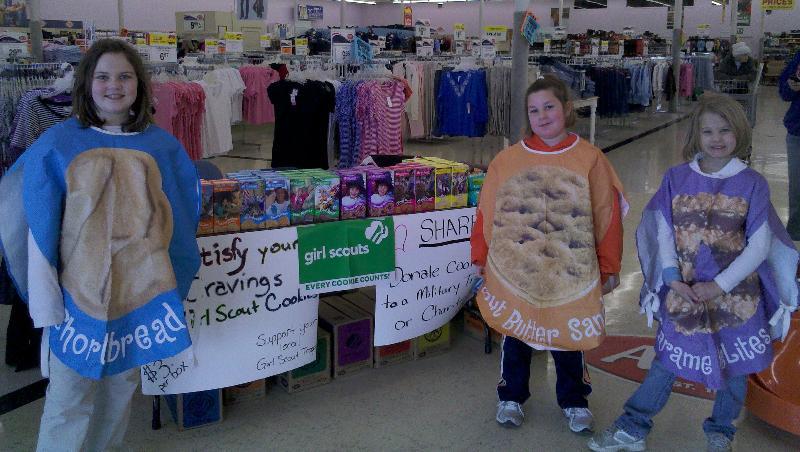 Cookie Booths Across Kansas Have Begun