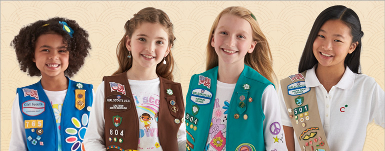 uniforms Girl scout