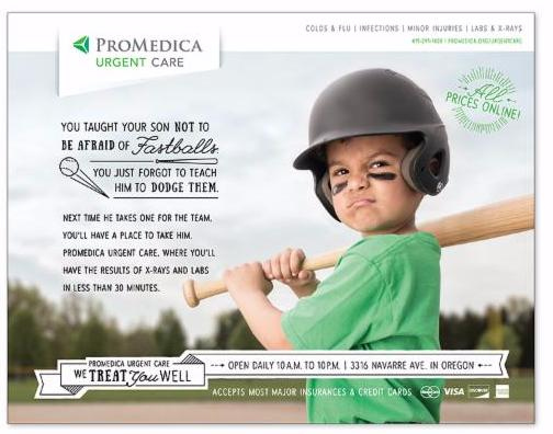 ProMedica Urgent Care Ad