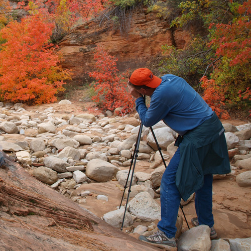 Zion Canyon Field Institute Fall Photograph Workshop