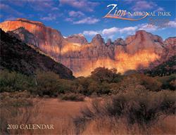 Calendar for Zion National Park